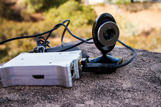 Surveillance camera using raspberry pi