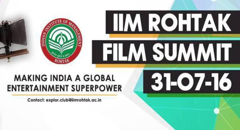 Film summit being organised by iim rohtak the companion for Kabil bano kamyabi